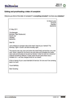 Complaint Format Letter Prepossessing Jang De Jangsky111592 On Pinterest