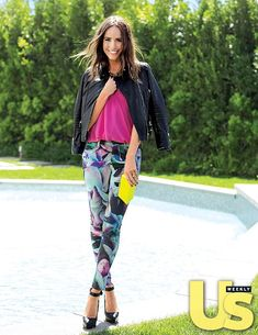 Louise Roe loves to mix and match solids with prints