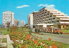 Vederi litoral (9) Concrete Architecture, Black Sea, Romania, Marie, Dolores Park, Nostalgia, Multi Story Building, Coast, Aur