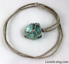 Blue Obsidian Hemp Wrapped Healing Necklace https://www.etsy.com/listing/237896223/