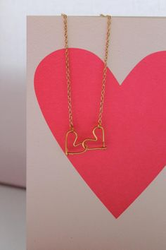 DIY - WIRE HEART NECKLACE
