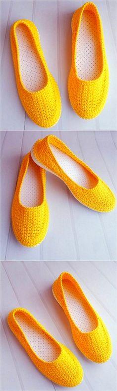 appealing crochet shoes project