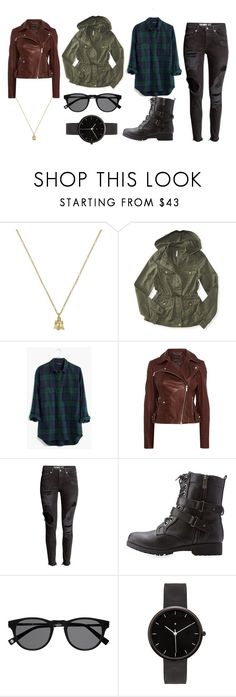 """""""Untitled #36"""" by spacekiid ❤ liked on Polyvore featuring Gucci, Aéropostale, Madewell, Karen Millen, H&M, Bamboo and I Love Ugly"""