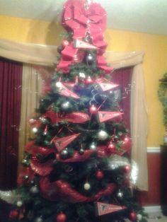 Atlanta Falcons Christmas Tree