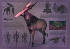 Fantasy creature. More of the pink color :)