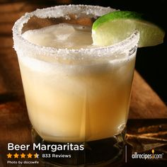 Beer Margaritas | It's a beer! It's a margarita! It's a little bit of both! It's the perfect fizzy cocktail for Cinco de Mayo.