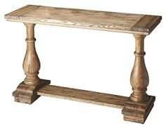 One Kings Lane - Room to Party - Ruby Plank Console Table, Oak