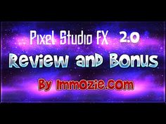 I just created my Pixel Studio FX 2.0 Review video to show you why I love this #ebookcover design software and demonstrate how easily I create my own #3Dcovers for all of my #digitalproducts without using Photoshop or hiring graphic designers. This is a must watch, it's absolutely amazing :)