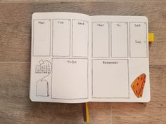November Week 3 Bullet Journal weekly spread with hand drawn teabag and scone Bullet Journal Yearly Spread, Bullet Journal Index, December Bullet Journal, Bullet Journal Quotes, Bullet Journal Tracker, Bullet Journal Printables, Bullet Journal How To Start A, Bullet Journal Layout, Bullet Journal Ideas Pages