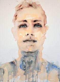 "SOLD!!! Saatchi Online Artist Fiona Maclean; Painting, ""SOLD!!! Lost Boy Matty "" #art"