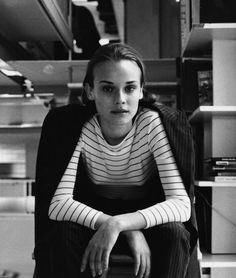 A young Diane Kruger photographed by Dewey Nicks