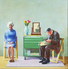 Art Everywhere - David Hockney 'My parents'