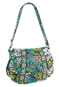 Vera Bradley Saddle Up Island Blooms