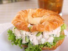 Buffalo Bleu Chicken Salad Croissants