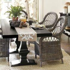 Chianni Trestle Table | Ballard Designs