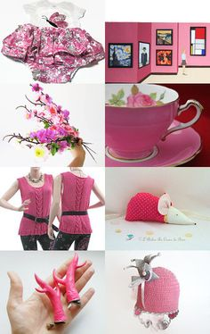 Pink Dreams by Olga on Etsy--Pinned with TreasuryPin.com