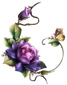 x 210 KB) - bagchi art - Blumen Flower Images, Flower Pictures, Flower Art, Arte Floral, Illustration Blume, Decoupage Paper, Flower Wallpaper, Vintage Flowers, Flower Patterns