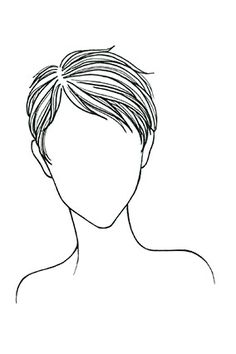 For a Heart Shaped Face ... In my opinion, to wear shorter hair well, one needs to have flawless features.  This would look cute in a medium shaggy length.