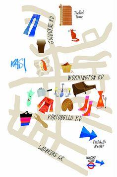 Phil Hankinson >> bijhouden route buurtwandeling en wat we zagen
