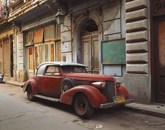 Fotó: Robert Polidori: Vintage Car with Composite Parts, Havana 1997