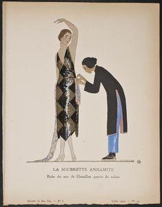 A.E. Marty 1920s Gazette du Bon Ton