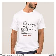 T shirt for surgeon