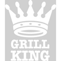 Grill King - White