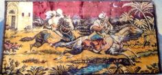 Kitschy cool vintage tapestry, $28. Attaboy Vintage SOLD