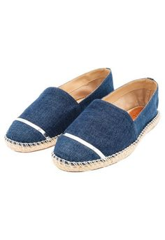 SCHUTZ - Alpargata Schutz jeans - azul - OQVestir