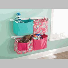Storage ideas for girls room
