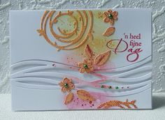 Stampin' Up! Swirly Bird, scribbles, Lift Challenge...could use a panel of vellum to secure the waves more