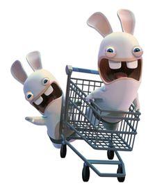 Les lapins crétins font leur crétin de courses Raving Rabbids