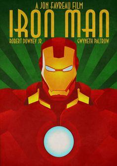 Awesome Iron Man poster artwork