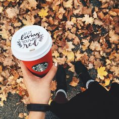"""If Taylor Swift ever wrote a song for Starbucks, it would go a little like this. #redcupcontest #taylorswift #starbucks #lonelystarbuckslovers #fall…"""