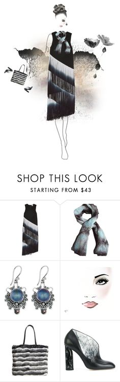 """Untitled #60"" by yee-yan ❤ liked on Polyvore featuring Haute Hippie, NOVICA, Chelsea28 and Paul Andrew"