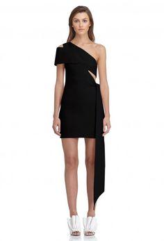 43639134d7a AQ AQ Lolita Cut-Out Mini Dress in Black New Wardrobe