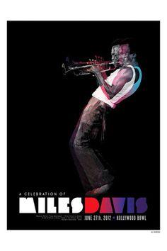 Miles Davis Celebration Poster