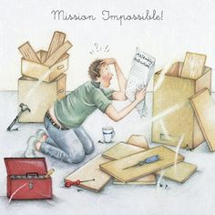 "Cards "" Mission Impossible "" - Berni Parker Designs ღ✟ Mission Impossible, Funny Cards, Getting Old, Retro, Decoupage, Birthday Cards, Stationery, Greeting Cards, Collage"