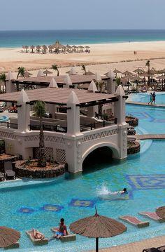 So excited....Pool, beach, sea. 14 days.Riu Touareg Cape Verde, Africa