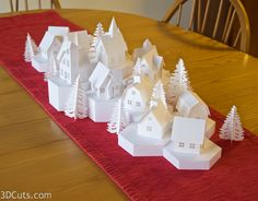Classy Christmas, Christmas Mom, Christmas Crafts, Xmas, Fun Crafts, Crafts For Kids, Paper Crafts, Advent Calendar House, Easy Christmas Decorations