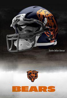 New BEARS helmet design