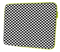 """Snoogg Abstract Chess Pattern 17\"""" 17.4\"""" 17.6\"""" Laptop Notebook Slipcase Sleeve Soft Case Carrying Case for Macbook Pro Acer Asus Dell Hp Sony Toshiba -- You can find out more details at the link of the image."""