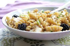 Blackberry Ginger Pasta Salad : Healthy Pasta Recipes