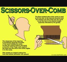 How to cut hair. scissor over comb thecnique. Hair Cutting Techniques, Hair Color Techniques, Cool Haircuts, Haircuts For Men, Cosmetology State Board, Cosmetology Student, Hello Hair, Diy Haircut, Pixie Haircut