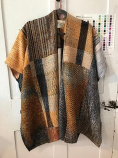 Crazy as a Loom Loom Knitting Patterns, Weaving Patterns, Knitting Stitches, Stitch Patterns, Knitting Tutorials, Free Knitting, Loom Weaving, Hand Weaving, Woven Wrap
