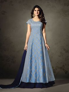 Sethnic blue 1118d surat salwar kameez supplier dealer manufacturer surat