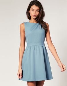Asos.com, ASOS Double Cloth Fit and Flare Dress, $89.65