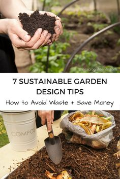 Want a productive, sustainable garden that nourishes you with healing healthy foods? These easy, practical tips will help you save money, avoid wasting resources + create a well-designed garden. | The Micro Gardener