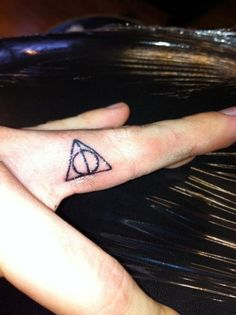 deathly hallows. love this.