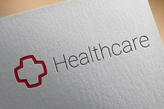 Vector logotype for healthcare, medicine, help niches. Includes CDR, PSD, EPS.